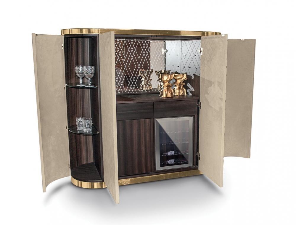Mobile bar casa Beverly di Longhi
