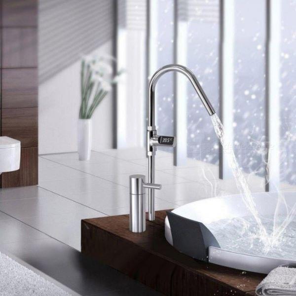 Temperatura acqua calda con termometro doccia Amazon