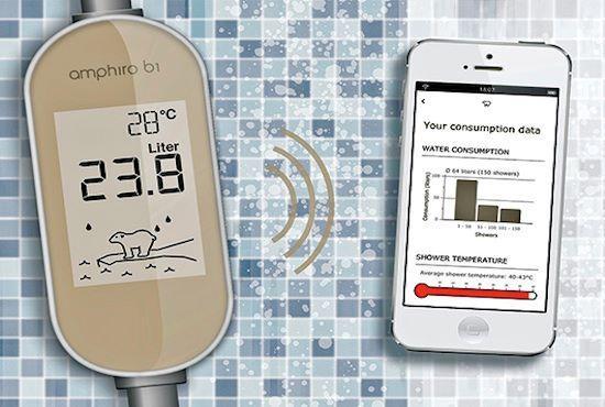 Termometro per doccia Amphiro