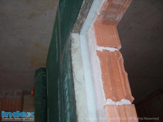 Stratigrafia della coibentazione acustica per pareti e soffitti dell'azienda Index