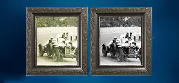Il vetro conservativo antiriflesso di Vetroservice protegge le antiche fotografie