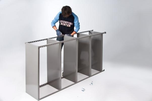 Come montare uno scaffale a bulloni, da Anemos Spa