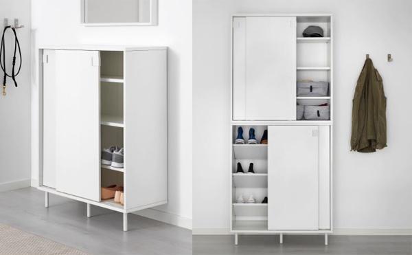 Ikea scarpiere modelli e caratteristiche - Portascarpe da appendere ...