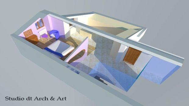 Come trasformare una mansarda in una camera da letto padronale