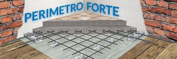 Consolidamento solaio antisismico Perimetro Forte - LECA