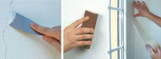 Come pitturare un muro intero