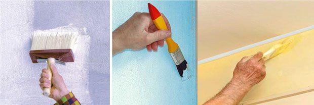 Come verniciare le pareti
