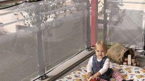 Mettere in sicurezza i bambini con protezioni anticaduta per balconi