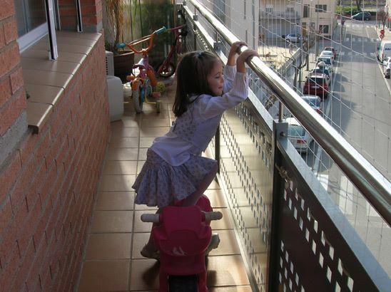 Ekosystem rete di protezione balconi
