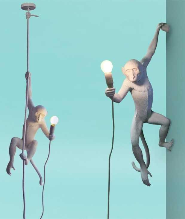 Lampada sospesa Monkey Seletti
