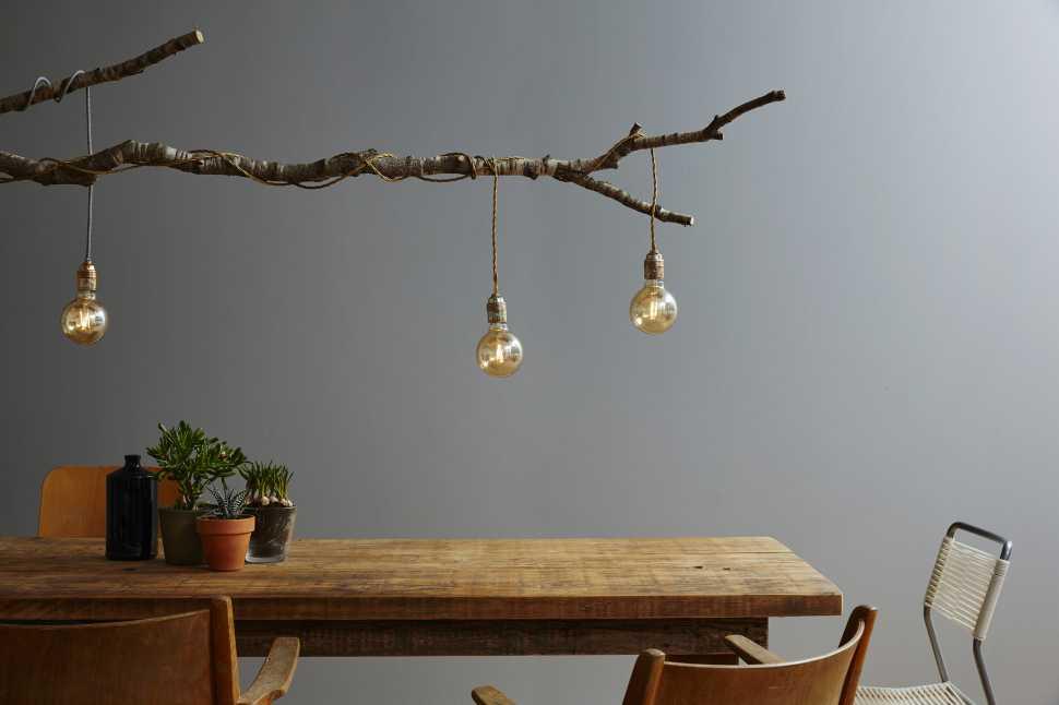 Lampade sospese - idee fai da te