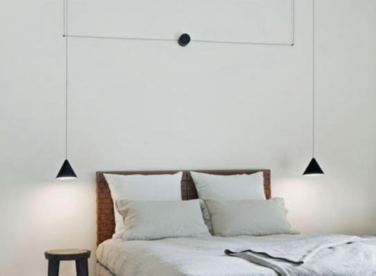 Lampade sospensione letto - String Light Flos