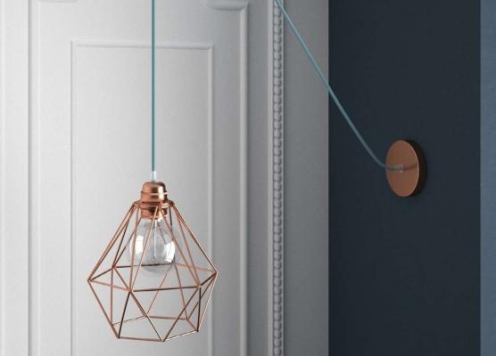 Lampade sospensione fai da te - Creative Cables