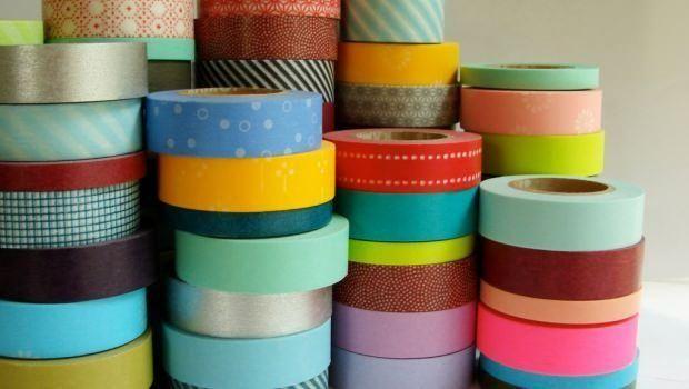Decorare le superfici velocemente con il washi tape