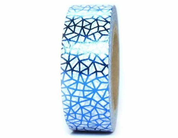 Washi tape Foil blu - Washi tape store