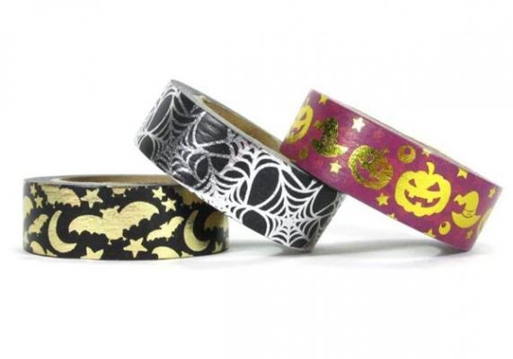 Washi tape a tema Halloween - Washi tape store