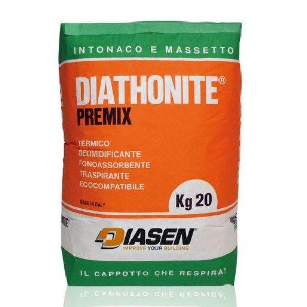 Intonaco Diathonite Acoustix con potere fonoassorbente