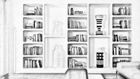 Idee originali per creare una parete attrezzata in cartongesso