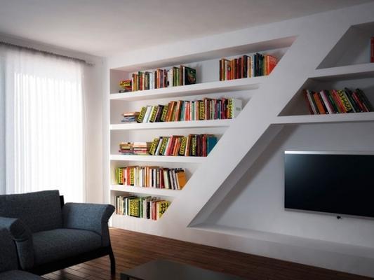 Libreria in cartongesso Gyps