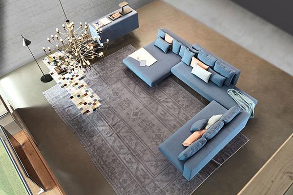 Arredamento idee divano Lago air blu