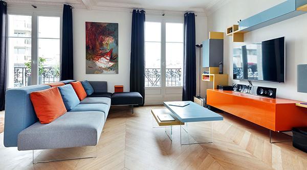 Come arredare una casa moderna Lago Living divano