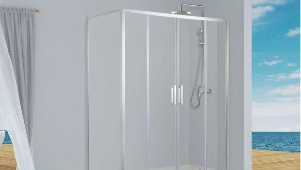 Box Per Vasca Da Bagno Angolare : Vasche e docce: modelli e stili