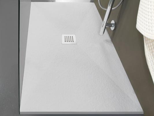 Piatto doccia salvaspazio in pietra 80x70 di Iperceramica