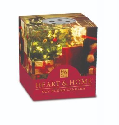 Regalare un profumo con la candela natalizia per la casa di Heart&Home