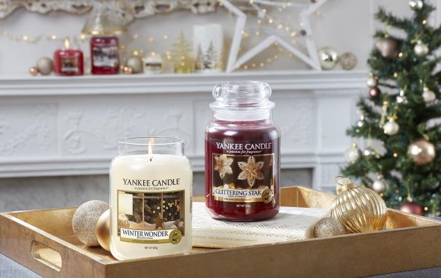 Profumi di Natale per la casa con le Yankee Candle
