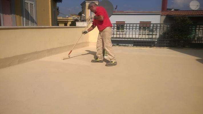 Impermeabilizzazione terrazzi Terraflex Kromax finito