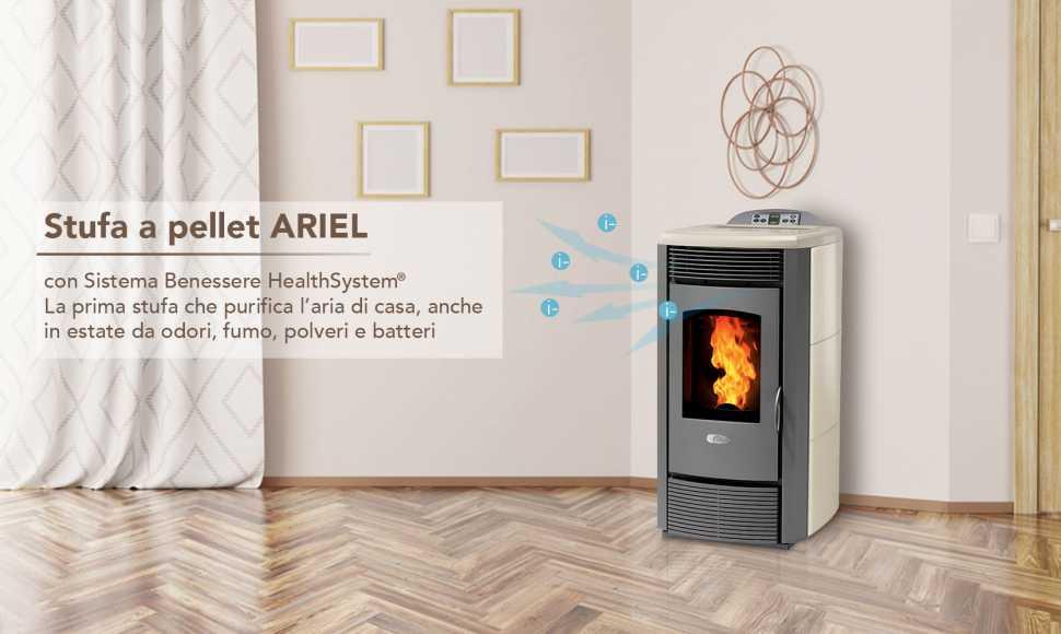 Stufa a pellet Ariel Energia