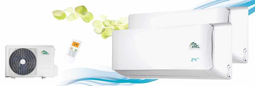 Climatizzatori inverter modello DUOS di Ariel
