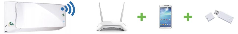 Comando wifi del condizionatore a inverter
