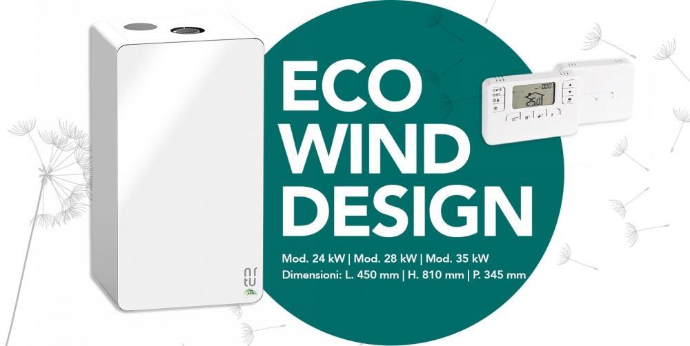 Caldaia condensazione Eco Wind Design