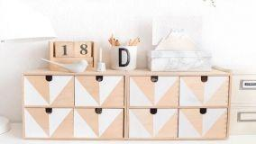 Come personalizzare i mobili di Ikea con le decorazioni