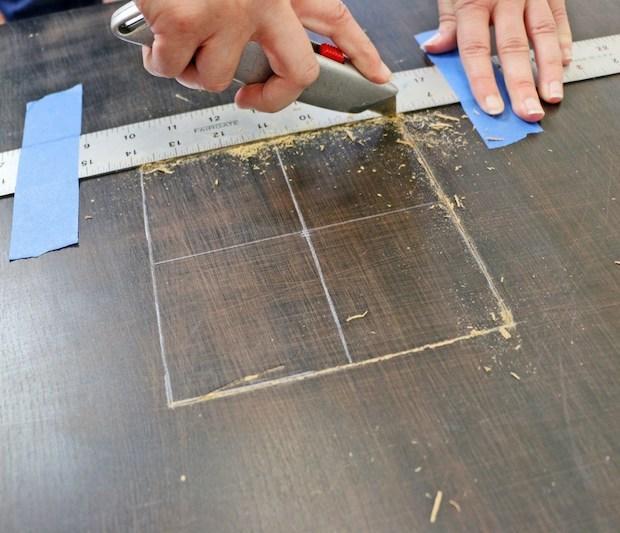 Personalizzare mobili Ikea: tavolino Lack, da ikeahackers.net