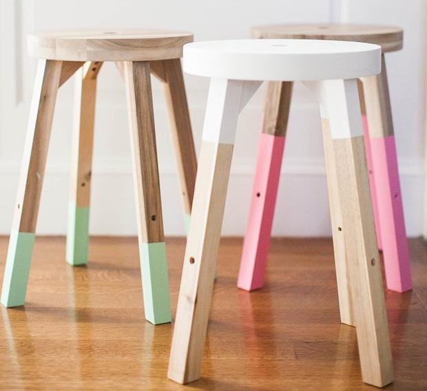 Dipingere mobili Ikea per personalizzarli, da stylemepretty.com