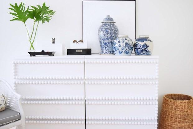 Cassettiera Ikea Malm personalizzata, da mydearirene.com