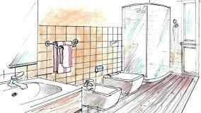 Porta asciugamani da parete: montaggio in fai da te
