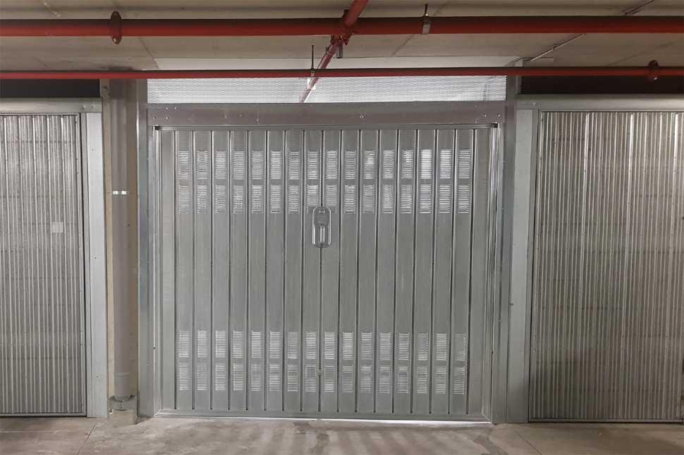 Areazione porta del garage