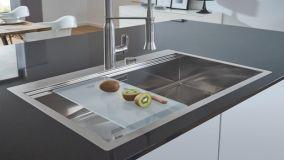 Il lavello della cucina: tipologie e materiali consigliati