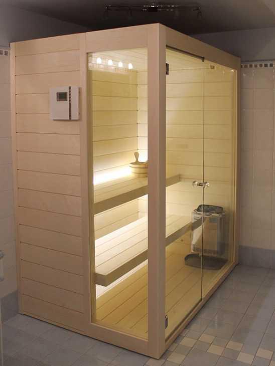 Sauna finlandese modello NOVA - IDUS