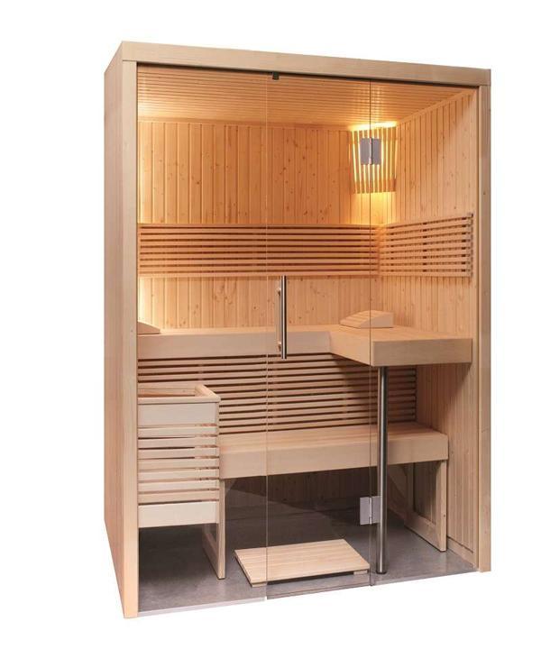 Sauna e Hammam in piccoli spazi