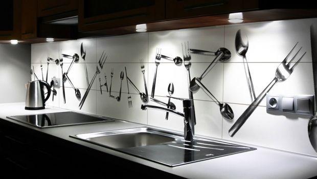Cucine Moderne Con Disegni.Piastrelle Cucina