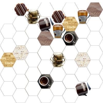 Piastrelle esagonali da cucina con caffè, by Ceramiche Da Vinci
