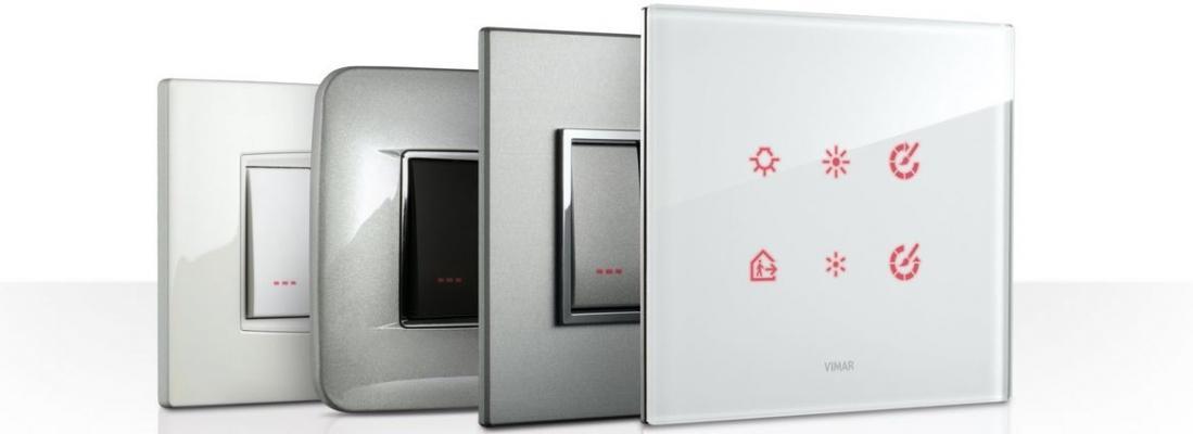 Placche per interruttori Vimar serie Eikon