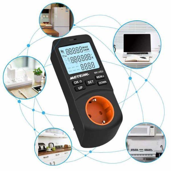 Monitoraggio consumi elettrici con misuratori su Amazon