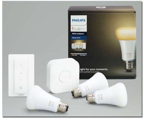 Hue White Starter Kit di Philips
