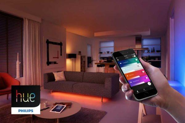 Luci in casa: gestione con Hue di Philips