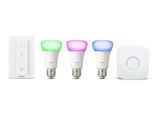Illuminazione a led casa con Hue di Philips